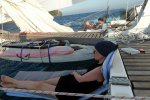Relaxing during sailing in Thai waters (Wedekind Maria)